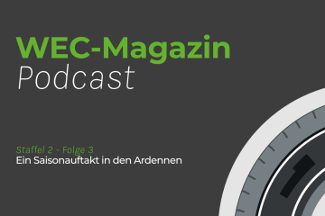 Titelcover WEC-Magazin Podcast
