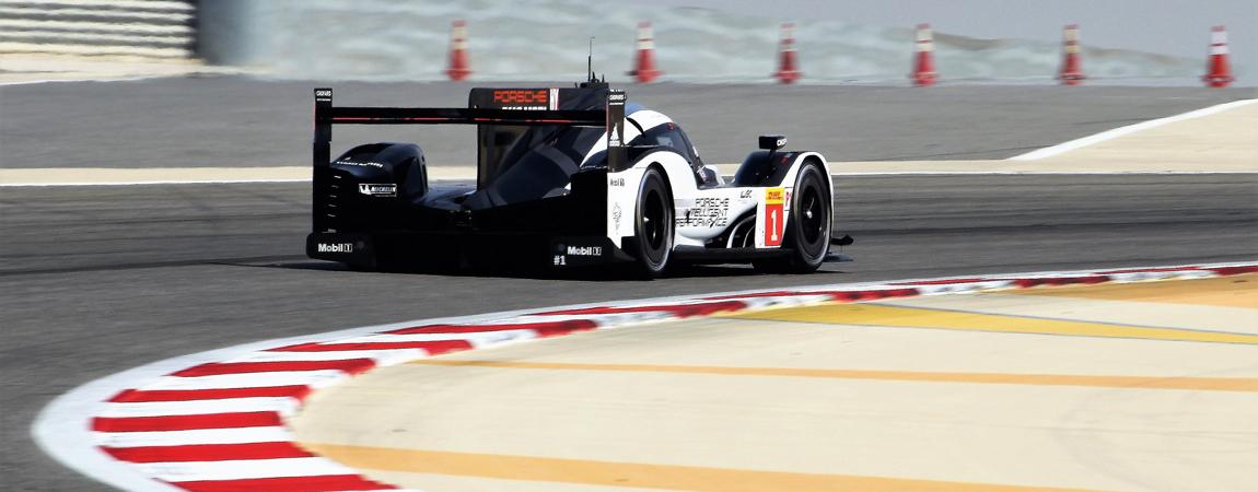 Ein moderner LMP1-Bolide von Porsche