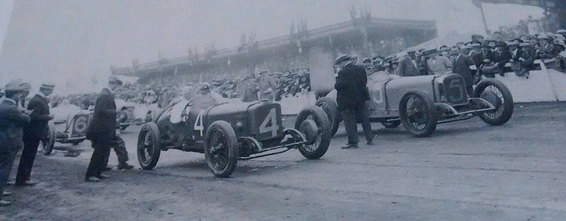 Die Anfänge des Motorsports