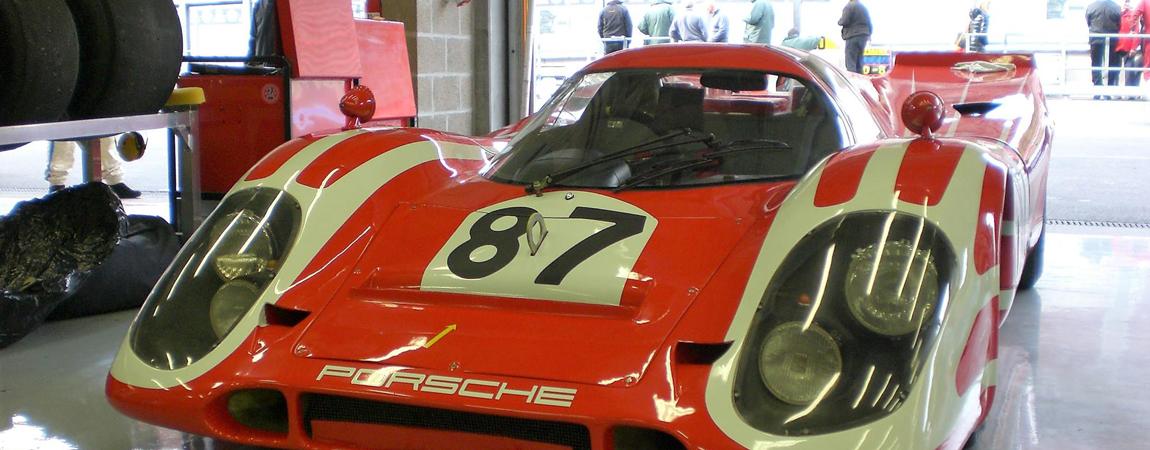 Ein Porsche aus den 60er Jahren