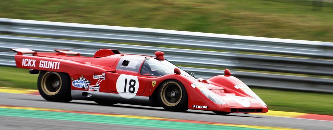 Ein Ferrari aus der frühem Zeit der WEC