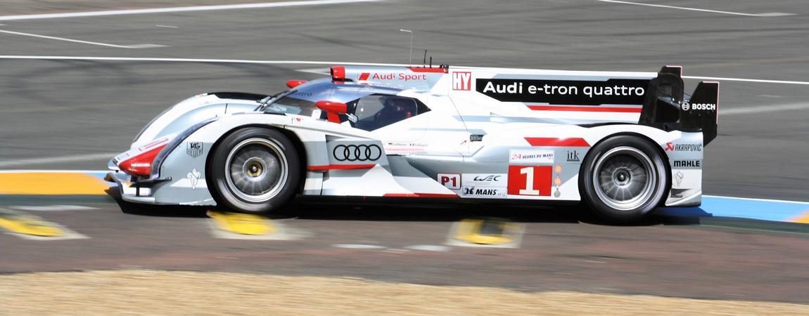 Der Audi R18 im Jahr 2012