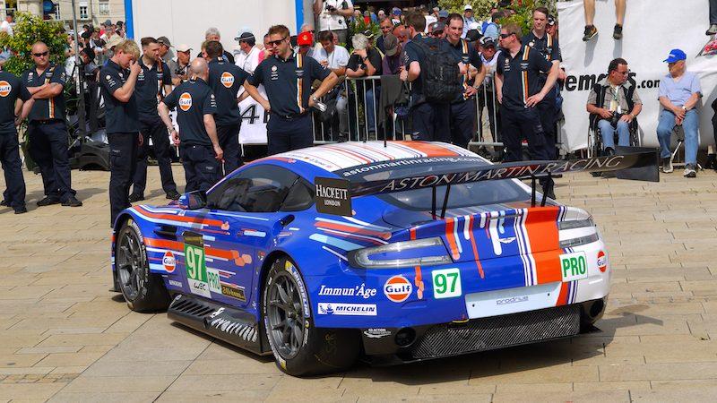 Aston Martin startet nur noch mit 4 Autos in Fuji