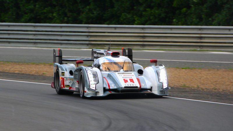 Der Audi R18 in Le Mans