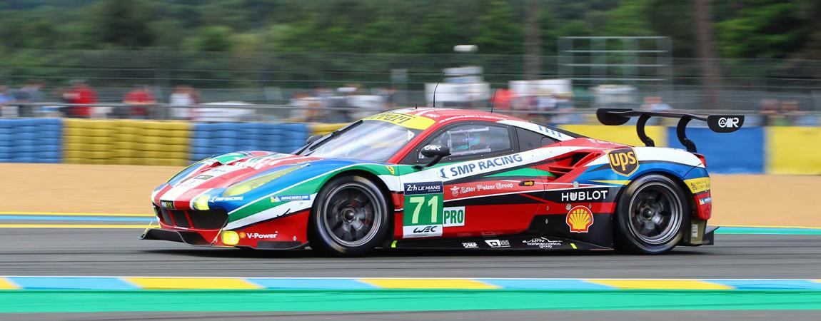 Der Ferrari 488 GTE bei den 24 Stunden von Le Mans