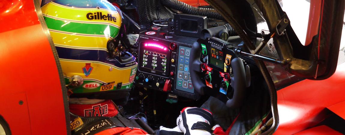 Bruno Senna kurz vor dem Rennstart