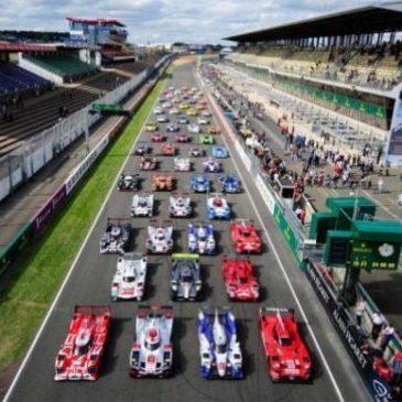 Porsche beim Le Mans Test an der Spitze