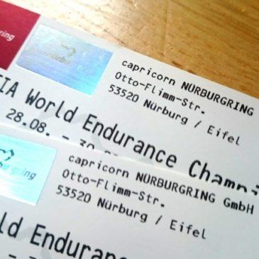 Freikarten für den Nürburgring zu gewinnen
