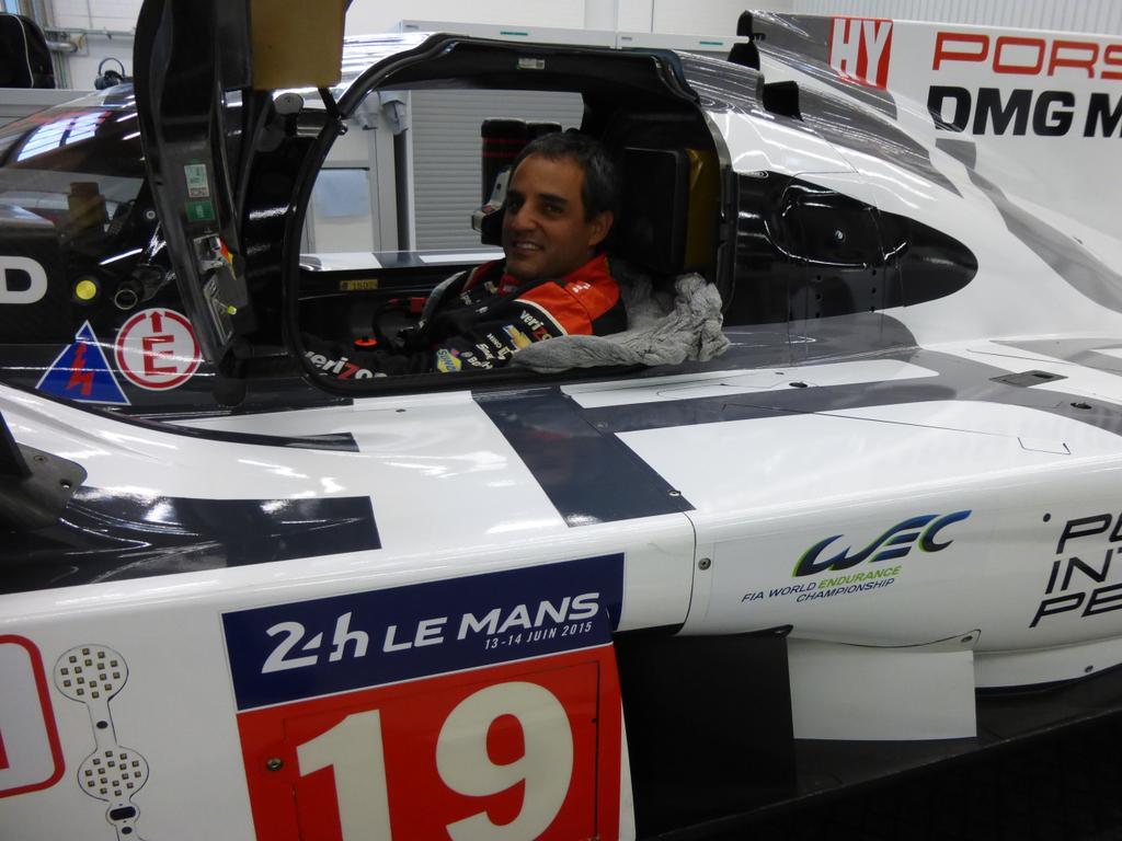 Montoya Porsche