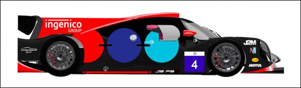 ELMS: OAK Racing mit neuem Sponsoren-Design