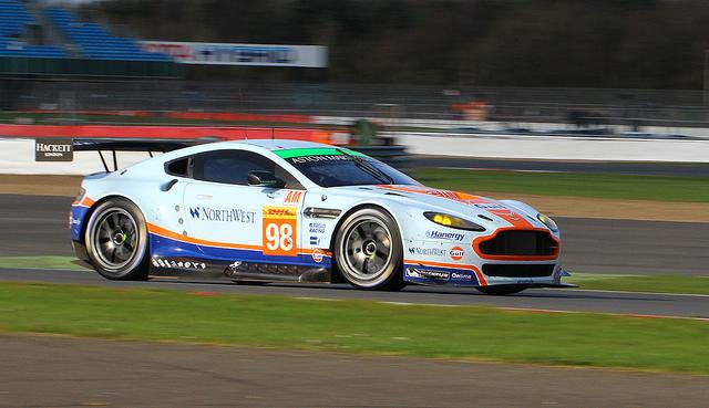 Aston Martin #98 in Silverstone 2015