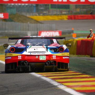 6h Spa: Ferrari führt auch im 3. Training