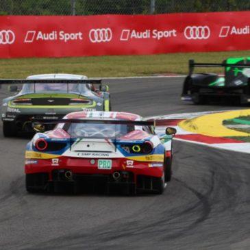 Aston Martin dominiert das zweite Training