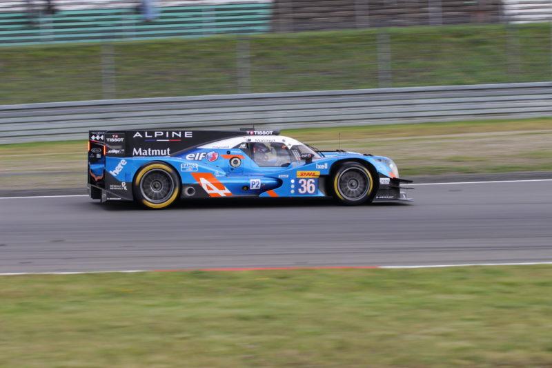 Zum dritten Mal in Folge gewann Signatech-Alpine in der LMP2-Klasse.