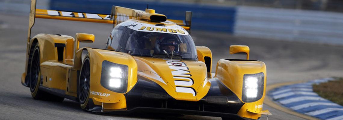 Mit diesem Dallara Prototyp geht das Racing Team Nederland in Le Mans an den Start.