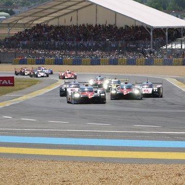 Porsche gewinnt dramatisches Rennen in Le Mans