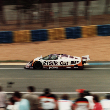 Jaguar in Le Mans 1988