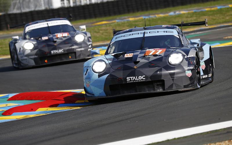 Der Porsche #77 bei den 24 Stunden von Le Mans