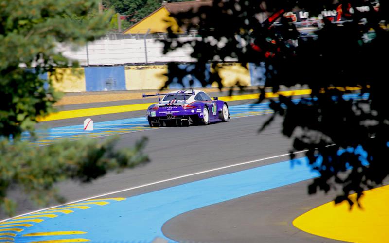 Porsche ging von der Pole-Position In Le Mans ins Rennen