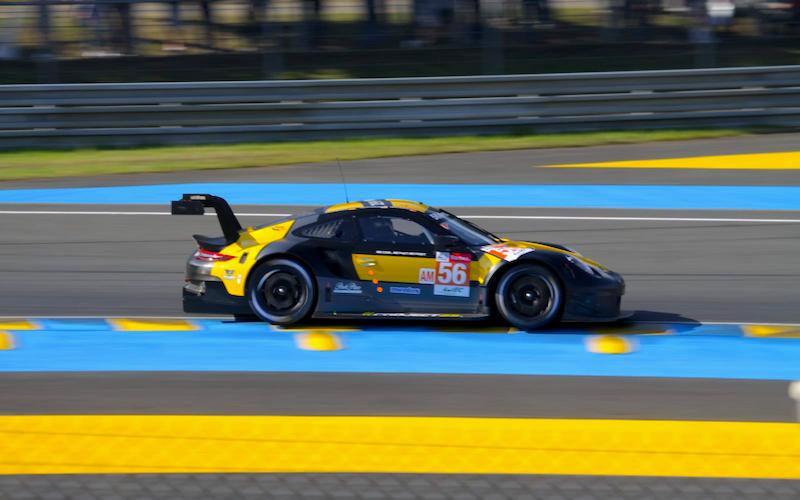 Neueinsteiger Project 1 liegt in Le Mans derzeit auf Position drei