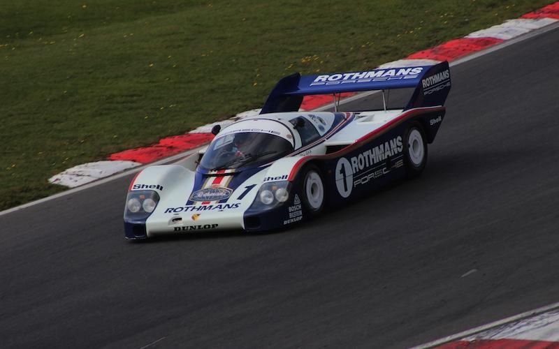 Mit der berühmten Rotmans-Lackierung fuhr Porsche in Le Mans