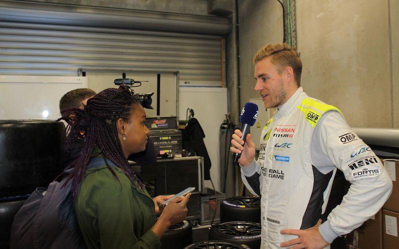 Dominik Kraihamer in Interview vor den 24 Stunden von Le Mans