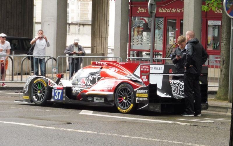 Neben den LMP2-Fahrzeugen, waren auch LMP1 und GTE-Boliden bei der Abnahme