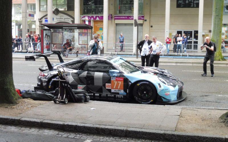 Der Porsche 911 RSR von Dempsey-Proton Racing