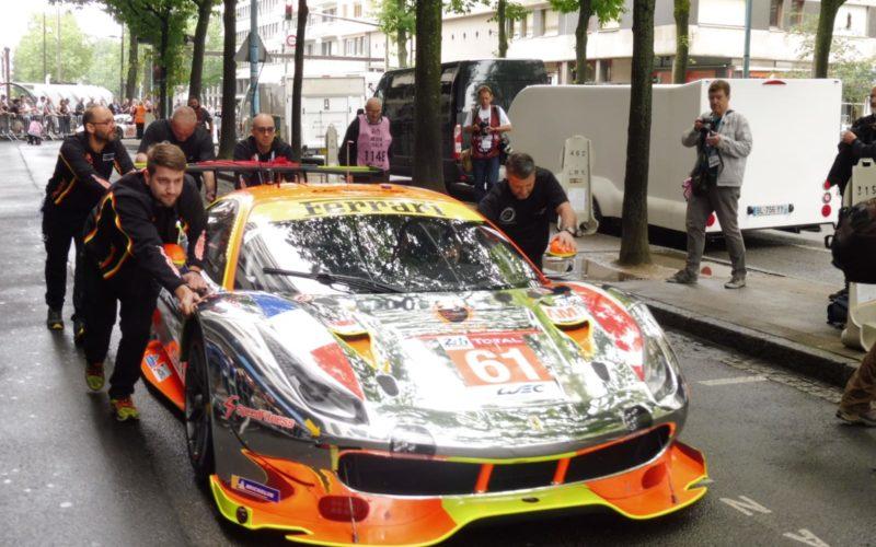 Der Ferrari 488 GTE von Clearwater Racing
