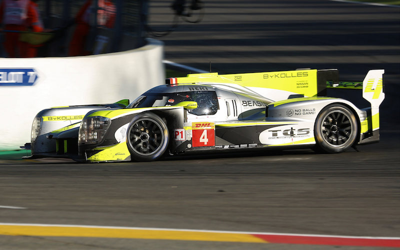 Der ENSO CLM P1/01 vom ByKolles Racing Team
