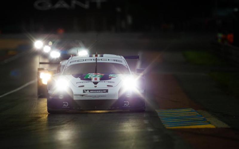 Porsche sicherte sich die Pole-Position in der LMGTE-Pro Klasse