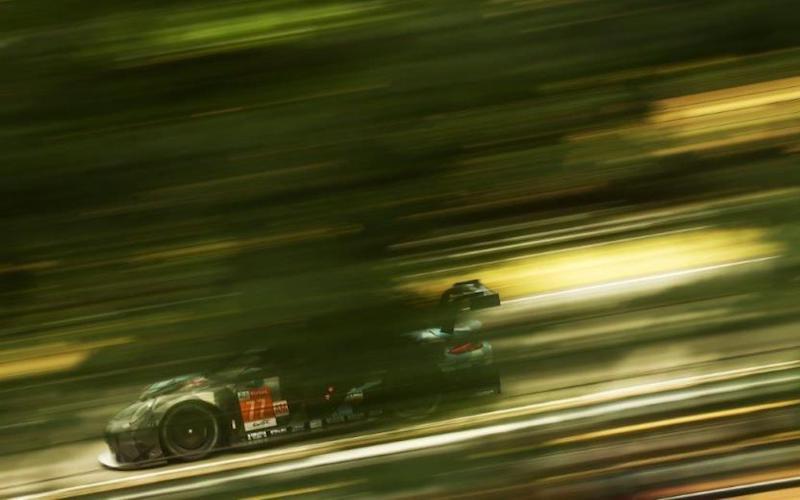 Auch in der LMGTE-Am war Porsche beim Testtag schnellster