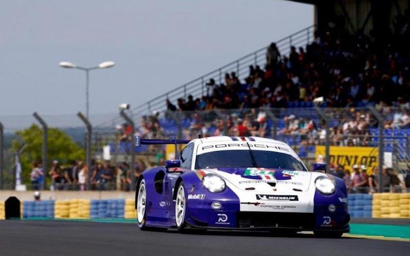 Porsche sicherte sich den ersten Platz beim Testtag in der LMGTE-Pro