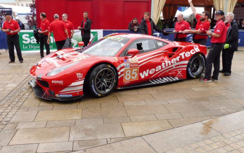 Der WeatherTech Ferrari 488 GTE