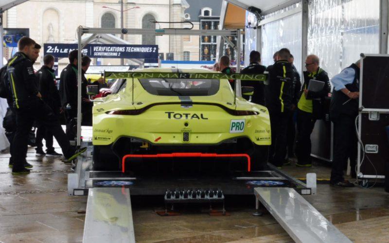 Der Aston Martin aus der GTE-Pr-Klasse