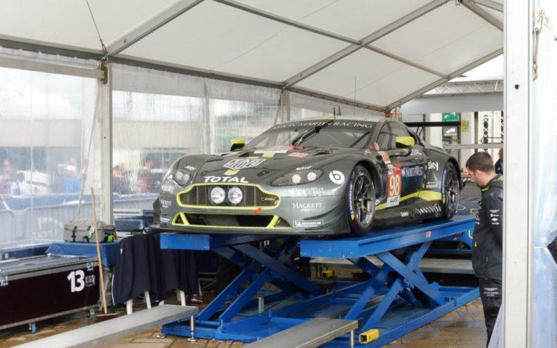 Der Aston Martin aus der GTE-Am-Klasse