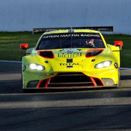 Aston Martin sicherte sich die Poleposition in der LMGTE-Pro.