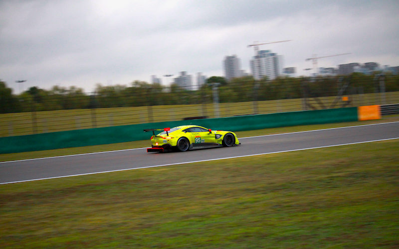 Aston Martin secured their first ever WEC victory in Shanghai with their new Vantage.
