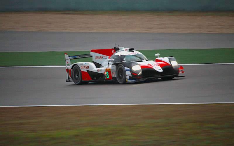Toyota on pole for the Six Hours of Shanghai