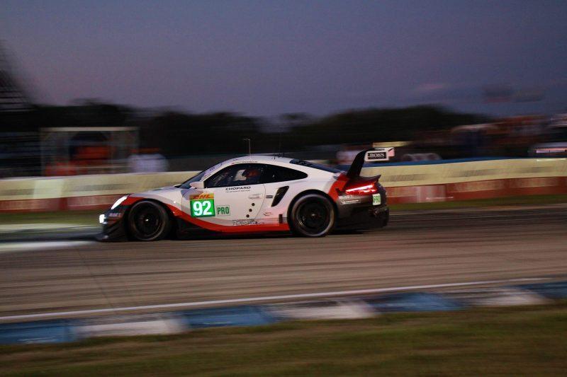 Porsche steht in Sebring auf der Pole