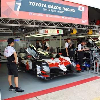 Rundenrekord für Toyota im FP1