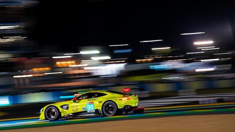 Aston Martin Racing auf Pole-Position in Le Mans