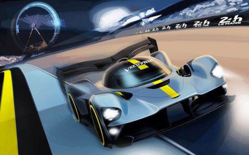 Eine Render-Grafik des neuen Aston Martin Hypercar