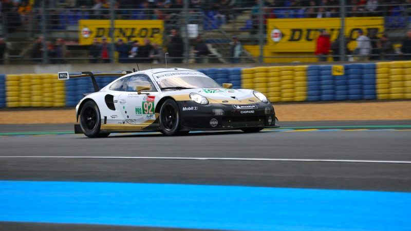 Porsche in Le Mans 2019