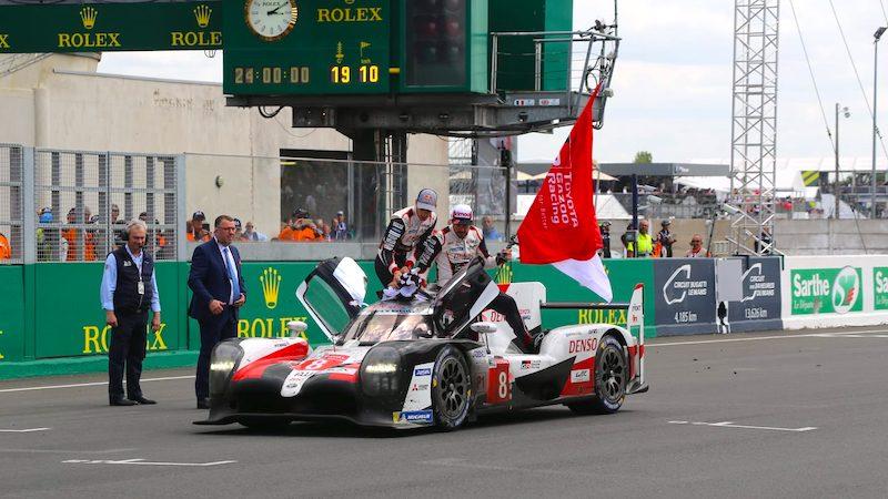 Toyota gewinnt die 24 Stunden von Le Mans 2019