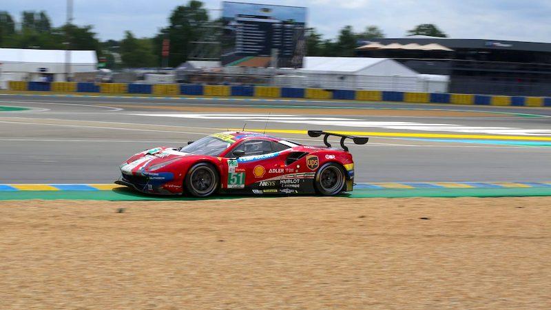 Ferrari holte den Sieg in der LMGTE-Pro