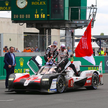 Le Mans Sieg und WM-Titel für den Toyota #8