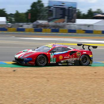 Sieg für Ferrari in der LMGTE-Pro