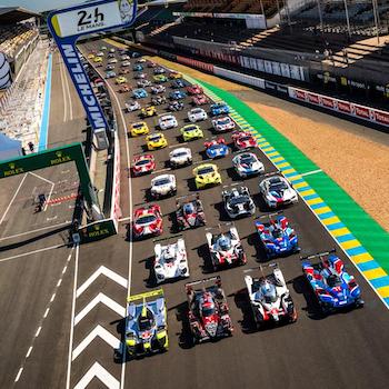 Heißer Testtag in Le Mans