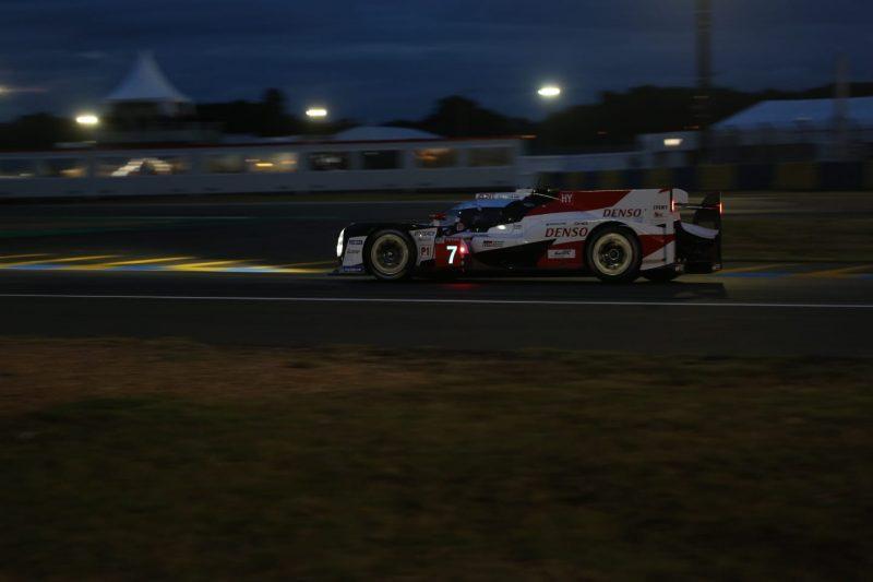 Toyota steht nach derm ersten Qualifiyng vorläufig auf der Pole-Positon